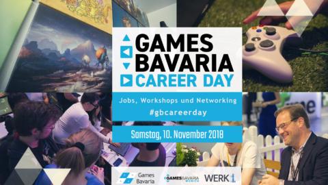 """Mehr über """"Games/Bavaria Career Day: Dein Einstieg in die Gamesbranche am 10.11.2018"""" lesen"""