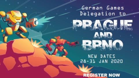 """Mehr über """"Jetzt bewerben! Deutsche Gamesdelegation in die Tschechische Republik"""" lesen"""