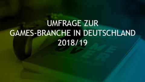 """Mehr über """"Umfrage zur Games-Branche: Noch bis 13. Januar! (UPDATE)"""" lesen"""