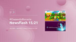"""Read more about """"#GamesInBavaria Newsflash 15/2021"""""""