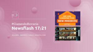 """Read more about """"#GamesInBavaria Newsflash 17/2021"""""""
