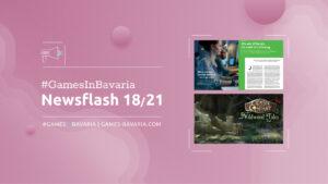 """Read more about """"#GamesInBavaria Newsflash 18/2021"""""""