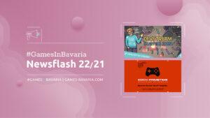 """Mehr über """"#GamesInBavaria Newsflash 22/2021"""" lesen"""