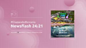 """Mehr über """"#GamesInBavaria Newsflash 24/2021"""" lesen"""