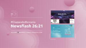 """Mehr über """"#GamesInBavaria Newsflash 26/2021"""" lesen"""