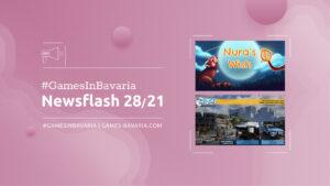 """Mehr über """"#GamesInBavaria Newsflash 28/2021"""" lesen"""