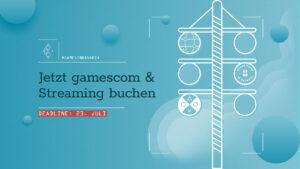 """Mehr über """"Deadline 23. Juli: Macht mit beim #GamesInBavaria Streaming zur gamescom"""" lesen"""