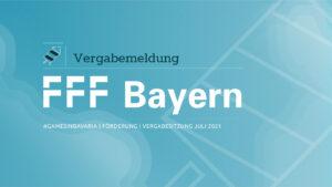 """Mehr über """"FFF Bayern fördert zehn Gamesprojekte mit einer halben Million Euro"""" lesen"""