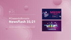 """Mehr über """"#GamesInBavaria Newsflash 35/2021"""" lesen"""