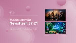 """Mehr über """"#GamesInBavaria Newsflash 37/2021"""" lesen"""
