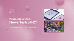 """Mehr über """"#GamesInBavaria Newsflash 39/2021"""" lesen"""