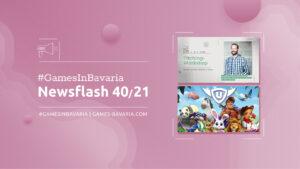 """Mehr über """"#GamesInBavaria Newsflash 40/2021"""" lesen"""